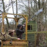Clay pigeon shooting Bath